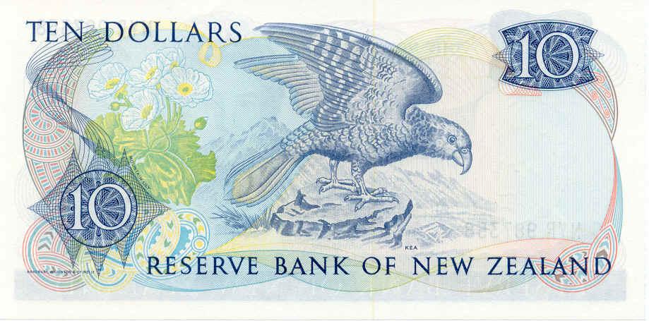 NZ$10 Kea