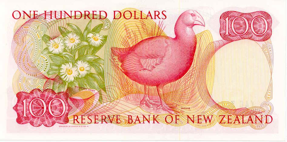 NZ$100 Takahe