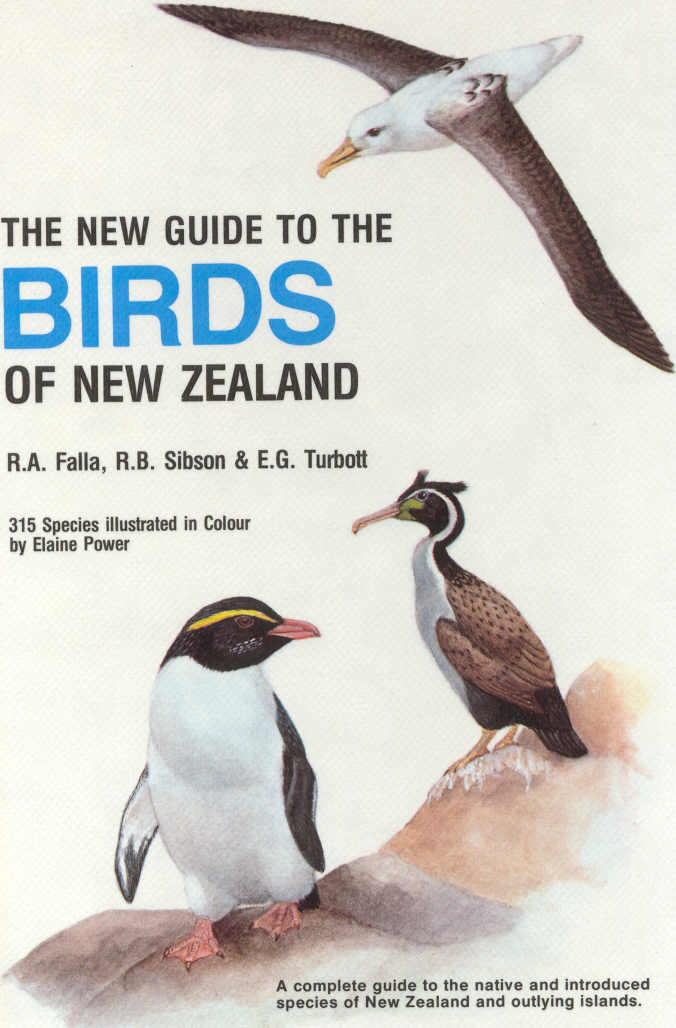 The New  Guid To The Birds Of New Zealand
